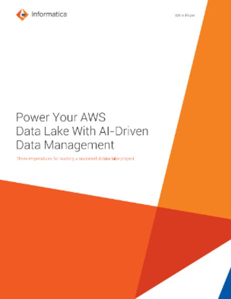 Informatica Data Management for AWS Data Lakes   Informatica
