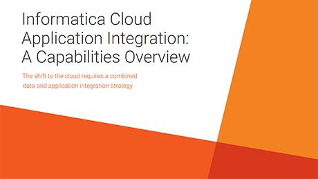 Informatica Cloud Application Integration