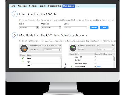 Salesforce Data Loader: Informatica Cloud Data Wizard