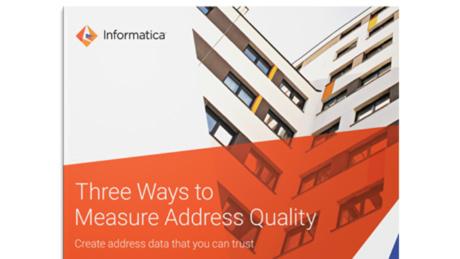 Address Validation & Verification Services   Informatica